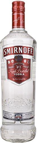 Smirnoff discount duty free Smirnoff Vodka Triple Distilled 1 Liter