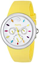 Fruitz by Philip Stein Unisex F43S-TF-Y Analog Display Japanese Quartz Yellow Watch