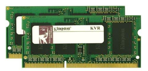 Kingston Valueram 8Gb 1333Mhz Ddr3 Non-Ecc Cl9 Sodimm (Kit Of 2) Notebook Memory