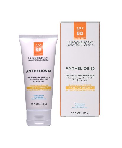 La Roche-Posay Anthelios 60 Melt-In Sunscreen, 5-Ounce Tube