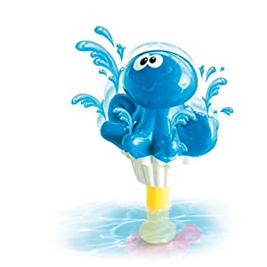 Baby Baby Pump N Spray Octopus Bath Toy