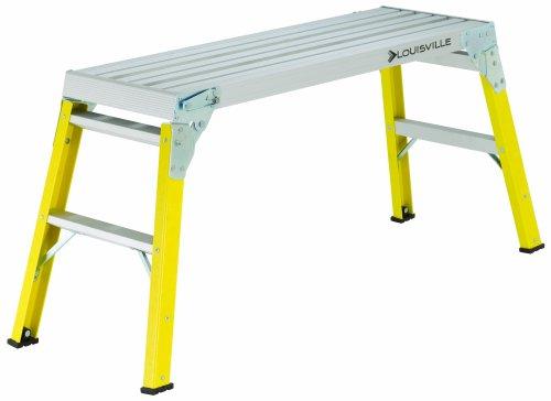 Louisville Ladder L-3041-03 Fiberglass Mini Working Platform