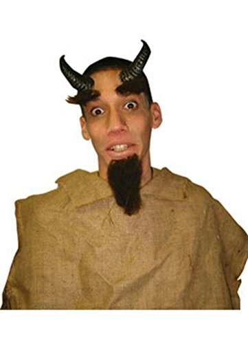 [Popcandy Costume Co Reel Fx Satyr Horns Costume Accessory] (Satyr Halloween Costumes)