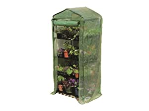 Amazoncom gardman 4 tier greenhouse reinforced cover for Amazon gardman furniture covers