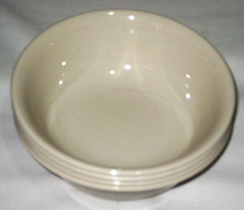 Corning Corelle Livingware Beige Sandstone 6 x 2 1/4 Inch Cereal Soup Bowls, Set of 4 (Corelle Beige Dishes compare prices)