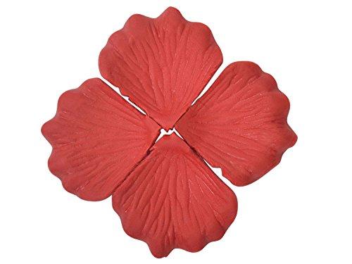 AshopZ 500pcs Artificial Silk Rose Flower Petals Wedding Party Decor Bulk Red (Freeze Dried Rose Petals Blue compare prices)