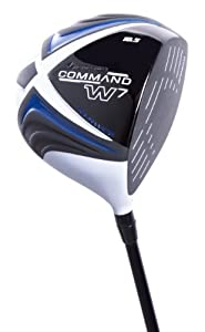 Pinemeadow Men's Command W7 Driver (Right Handed, 10.5 Degree, Golf Pride Tour Wrap White Grip)