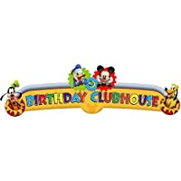 Disney Mickey Mouse Clubhouse Playtime Happy Birthday Banner