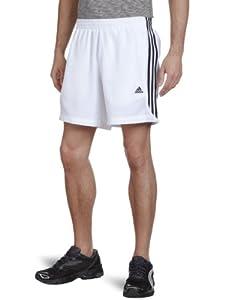 adidas Herren Shorts Essentials 3-Stripes Chelsea, White/Black, L, X20186