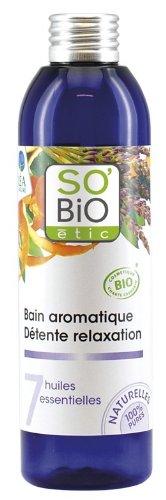 So'Bio Étic Bain Aromatique Détente Relaxation 7 Huiles Essentielles 200 ml Lot de 2