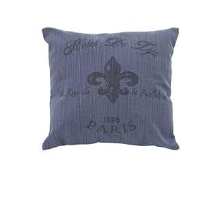 Decorative Denim Pillows : Amazon.com: Cotton Decorative Pillow Color: Denim Blue: Home & Kitchen