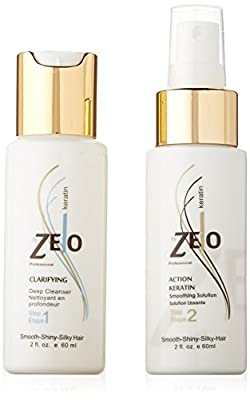 Zelo Brazilian Keratin Smoothing System