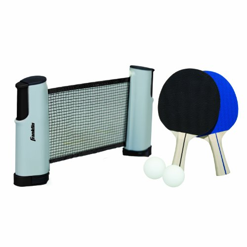 Review Franklin Sports Table Tennis To Go (Multi-color)