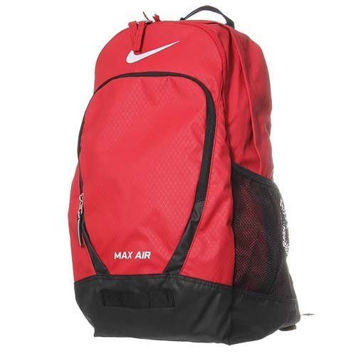 198188a13c59 Nike Team Max Air Large BackPack Gym Red Black White BA4890-601 ...