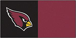 FANMATS NFL Arizona Cardinals Nylon Face Team Carpet Tiles by Fanmats