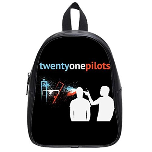 LilyFavor Twenty One Pilots Guns For Hands Custom Zaino School Borsa(Large)