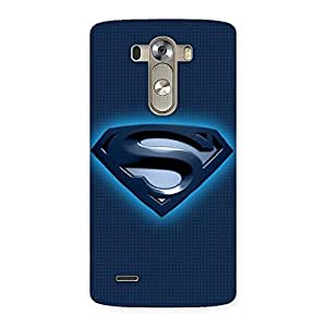 uper Blue Back Case Cover for LG G3