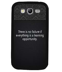 Printvisa 2D Printed Quotes Designer back case cover for Samsung Galaxy Grand 2 SM - G7102 / G7106 - D4310