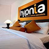 Hypnia Double Size Visco Memory Foam Mattress 30cm / 12 inch Thickness 135cmx190cm inc 10 Year Guarantee FREE DELIVERY