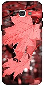 The Racoon Grip Autumn Fall Corel hard plastic printed back case / cover for Samsung Galaxy A8