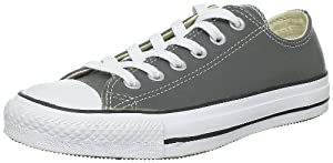 Converse All Star Ox Leather chaussures 6,5 charcoal