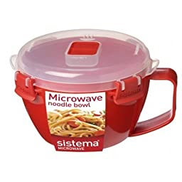 Sistema Microwave Noodle Bowl 940 ml, 32 oz by Sistema