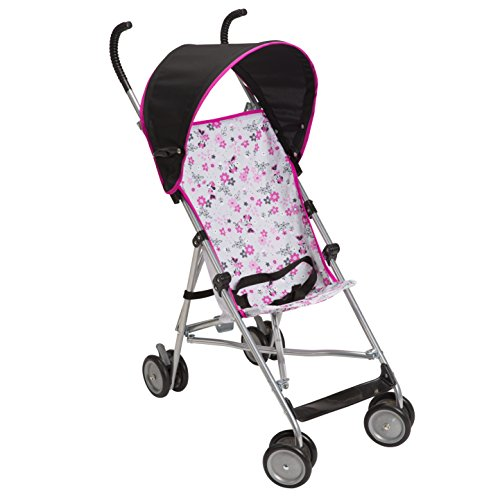 Disney Umbrella Stroller with Canopy, Garden Delight, Minnie - 1