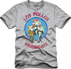 T-Shirt - Breaking Bad - Los Pollos Hermanos