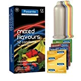 Pasante Mixed Flavour Condoms x 48