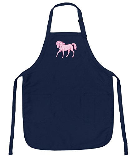 Pink Horse Apron Blue Horses Top Rated For Grilling, Barbecue, Kitchen