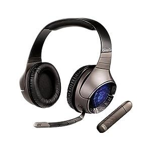 Creative Labs Creative World Of Warcraft 70GH010000000 Headset - Over-the-head - Binaural - Ear-cup - RF - USB- Surround