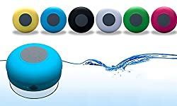 Stylisda Bluetooth Waterproof Shower Speaker - Pink, White, Green and Black available