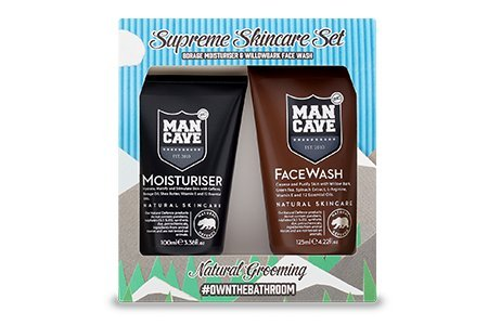 ManCave - Supreme Skincare Kit - Face Wash and Moisturiser