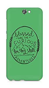 AMEZ Blessed are the curious Back Cover For HTC One A9