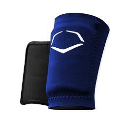EvoShield Protective Baseball Wrist Guard,Navy,Large