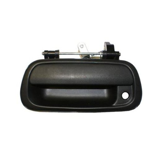 2000-2006 Toyota Tundra Pickup Truck Smooth Black Outside Tailgate Liftgate Door Handle With Keyhole (2000 00 2001 01 2002 02 2003 03 2004 04 2005 05 2006 06)