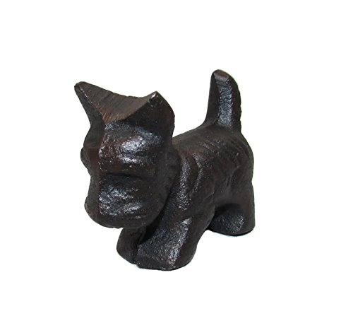 Mini 2 Inch Cast Iron Scottie Dog Figurine or Paperweight