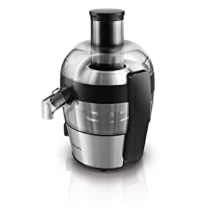 Philips HR1836/01 Viva Collection Compact Juicer, 1.5 Litre, 500 Watt - Brushed Aluminium