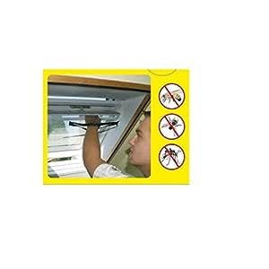 Dachfenster-Fliegengitter 130x150cm - mit Reißverschluss zum Durchgreifen - natürlicher Insektenschutz bei geöffnetem Fenster