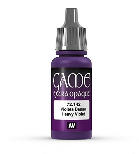 Vallejo Game Color Heavy Violet X-Opaque Paint, 17ml - 1