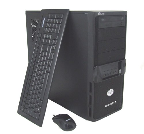 Zoostorm 7877-0308 Business Desktop PC (Intel Core i7-3770k 3.5GHz Processor, 1TB HDD, 16GB DDR3, Nvidia GeForce 1GB GTX660 Ti Graphics Card, DVD-RW, Windows 8 Professional)