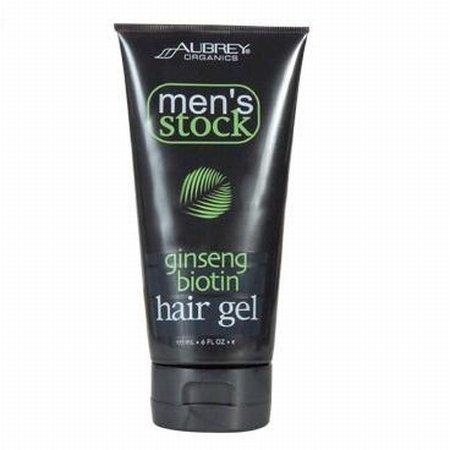 Men's Stock Ginseng Biotin Hair Gel - 6 oz - Gel