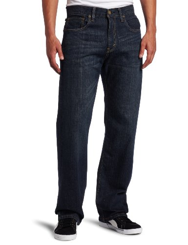 Levi's Men's 569 Loose Straight Jean, Dark Chipped, 33x34