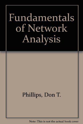 Fundamentals of Network Analysis