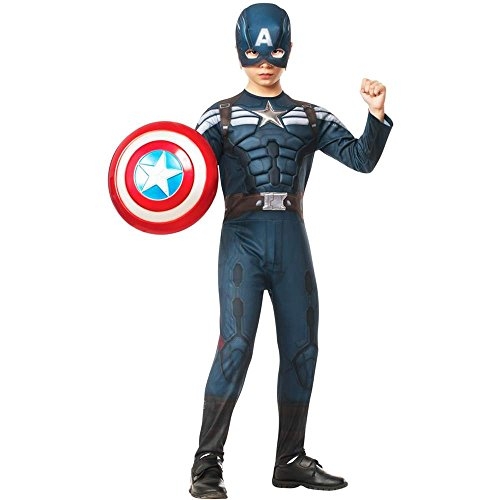Captain America Stealth Deluxe Kids Costume