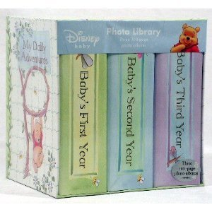 Winnie the Pooh Photo Library: Three 100-page Photo Albums