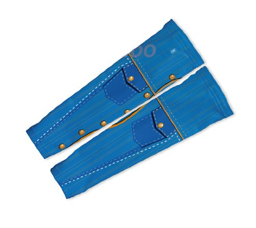 Buy Low Price Blue Western Denim Arm Warmers Sleeves Unisex Walking/Cycling/Running (01-AWS-023-PM)