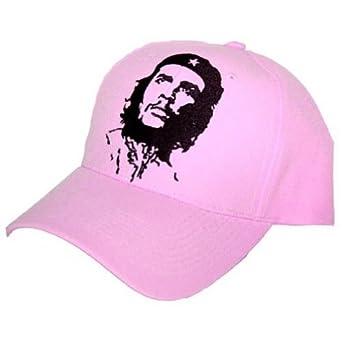 Che Guevara Face Hat Cap - Pink
