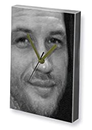 TOM HARDY - Canvas Clock (LARGE A3 - Signed by the Artist) #js002
