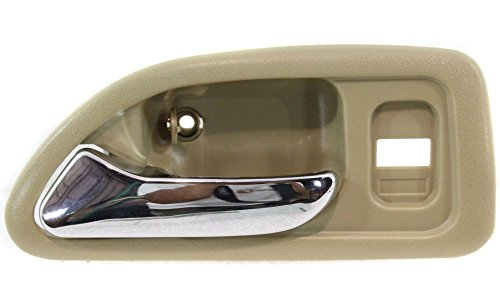 Evan-Fischer EVA18772041838 New Direct Fit Interior Door Handle for ACCORD 94-97 FRONT LH Inside Chrome Biege Sedan/Wagon (LX - USA Built / EX/EX-R/SE model) Replaces OE# 72165SV4003ZE (96 Honda Accord Lx compare prices)